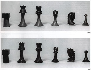 Marcel Duchamp's Art Deco chess set (now 3D-printable)
