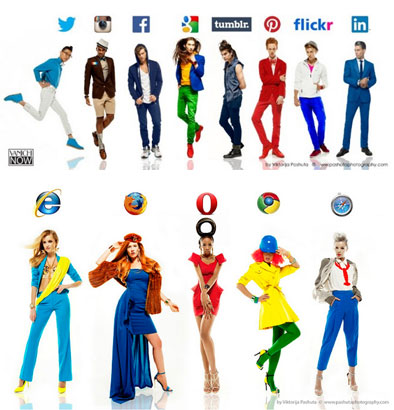 what if girls were browsers and guys were social networks?