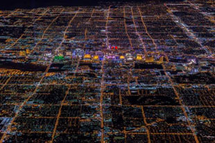 Sin City - Aerial photos of Las Vegas