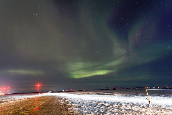 Northern Light over Nome