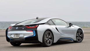 the BMW i8 plug-in hybrid