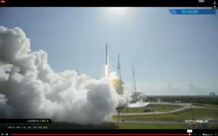 SpaceX liftoff!