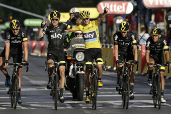 Chris Froome and Team Sky showed fine style to win the toughest Tour in years