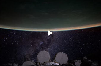 Astronaut Scott Kelly's galactic home movie