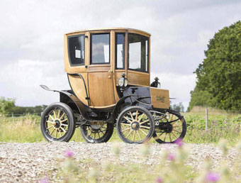 1905 Wood electric car