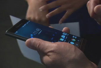 The Blackberry Priv ... Android smartphone with a portrait keyboard!