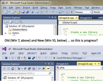 Win 7 vs Win 10 - so this is progress?