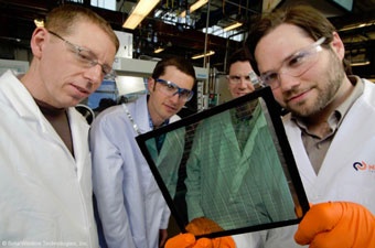 transparent solar cells: solar windows!