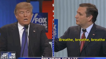 Cruz to Trump: breathe