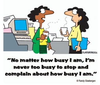 (not) too busy