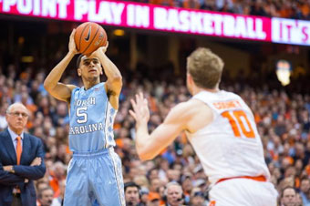 North Carolina handles Syracuse