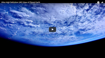 Earth in high def, viewed from the ISS