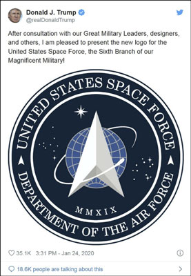 US Space Force logo