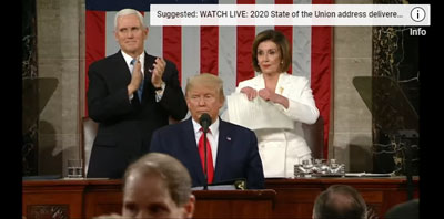 President Trump gives State of the Union Speech