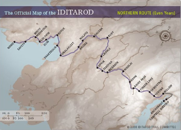 Iditarod - the Northern Route
