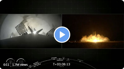 SpaceX 50th booster landing!