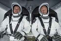 SpaceX; Captain Hurley and Commander Behnken
