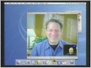 iChat with Al Gore