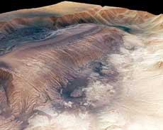 Mars - 3D picture of Herbes Chasma