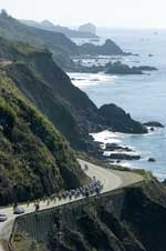 Tour of California - Big Sur coastline