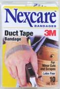 duct-tape band-aids