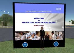 IBM's Virtual Healthcare Island in Second Life