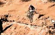 mountain bike wipeout video