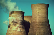 nuclear power: cooling towers